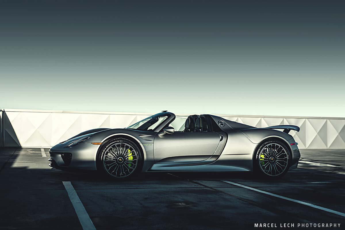 porsche 918 spyder by marcel lech hypercars le sommet. Black Bedroom Furniture Sets. Home Design Ideas