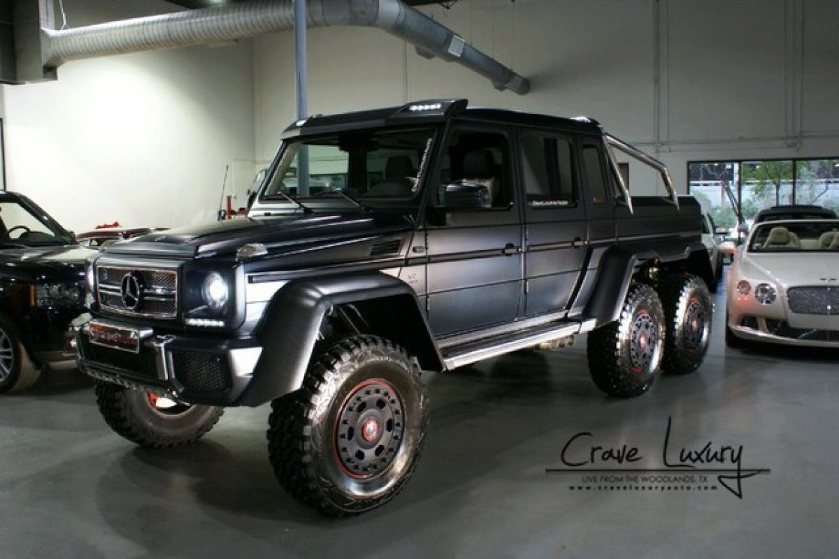 For sale 2014 mercedes benz g63 amg 6x6 hypercars le for Mercedes benz g wagon 6x6 for sale