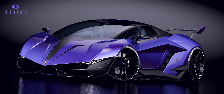 "Lamborghini Concept car ""RESONARE"" Extrême by Pawel ..."