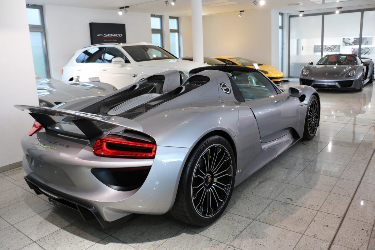 Porsche 918 Spyder - SEMCO Exclusive Cars