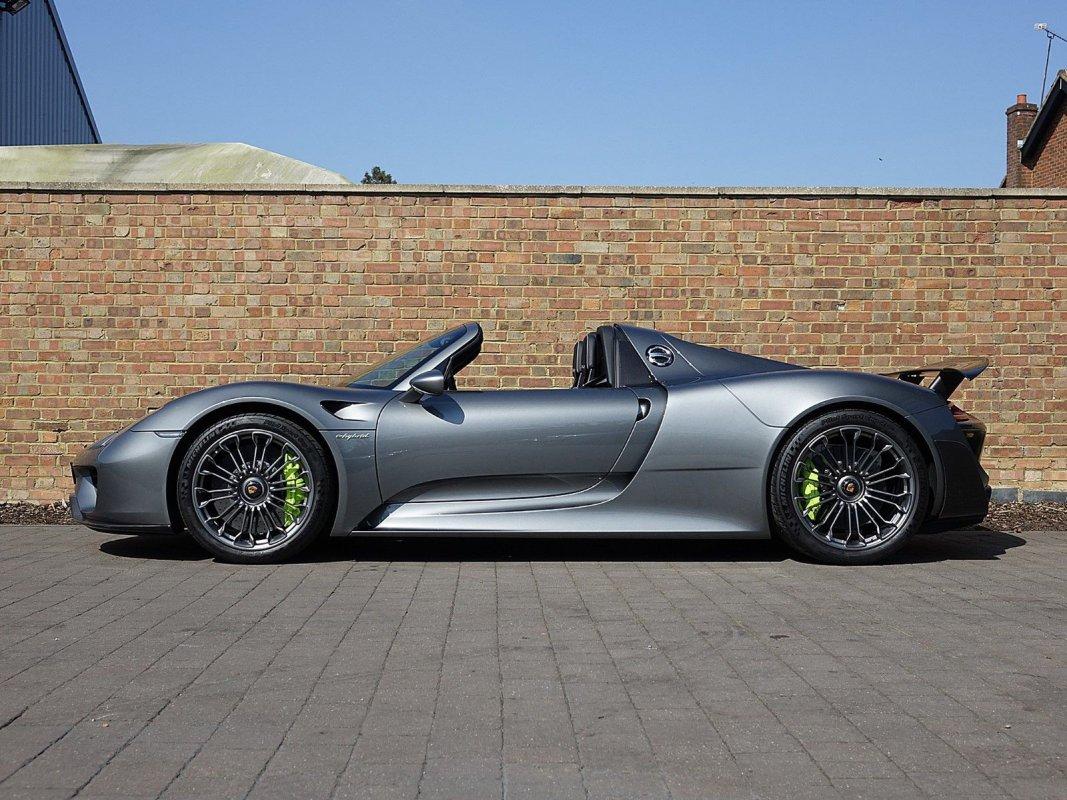 Porsche 918 Spyder for sale