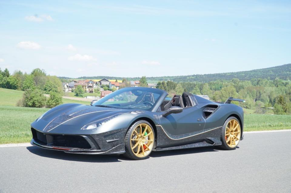 Mansory 4XXK Spider for sale