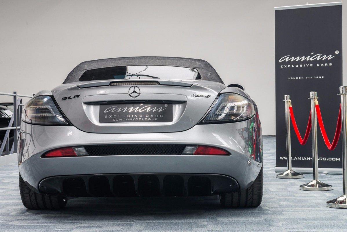"""Mercedes-Benz SLR McLaren 722 S """"Roadster"""""""