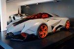 La Lamborghini Egoista fait son entrée au musée.
