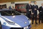 La Police Italienne patrouille déjà en Lamborghini Huracan.
