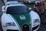 Une Bugatti Veyron pour la police de Dubaï.