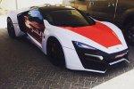Une Lykan Hypersport à 3 millions pour la police d'Abu Dhabi