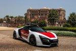 Abu Dhabi Police Lykan Hypersport Gets Official Photoshoot