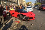 Une Ferrari LaFerrari accidentée en Hongrie