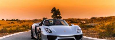 Porsche 918 Spyder in Dubai