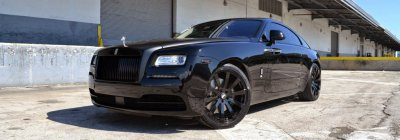 Rolls Royce Wraith By MC Customs On Forgiato wheels